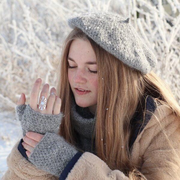 Vintereventyr Halvvanter