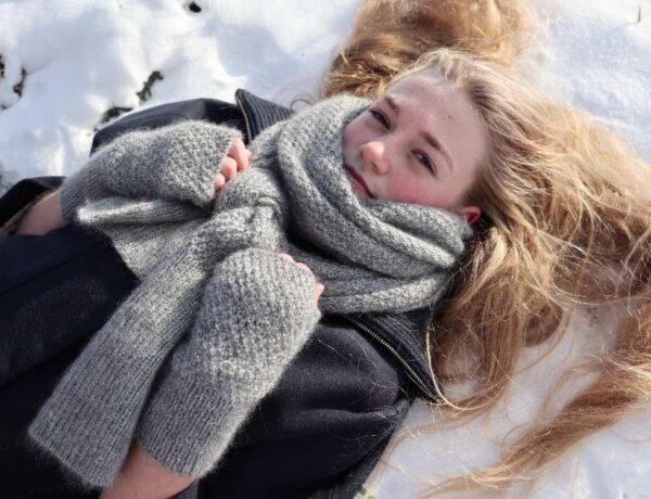 Vintereventyrsættet - strikkeopskrift