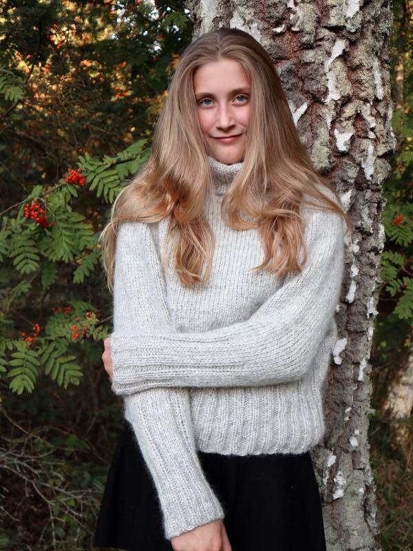 Cinis Sweater - strikkedesign