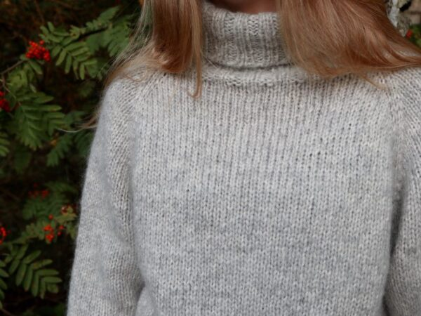 Cinis Sweater - blød rullekravesweater