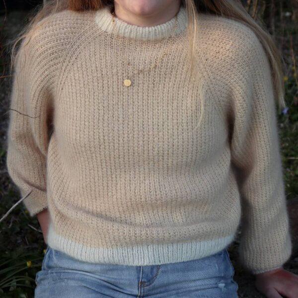 Bellis Sweater close up
